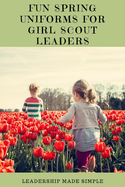Fun Spring Uniforms for Girl Scout Leaders