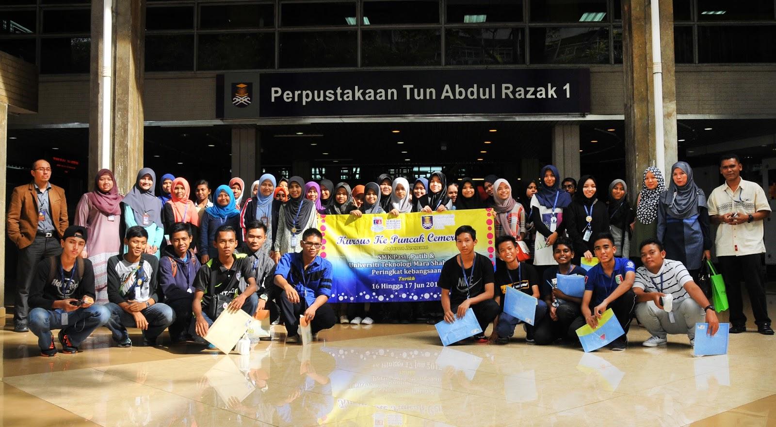 Lawatan SMK Pasir Putih Pasir Gudang ke PTAR