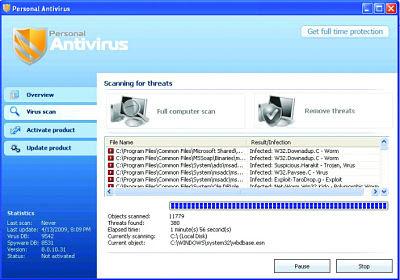 imagenes de virus falsos