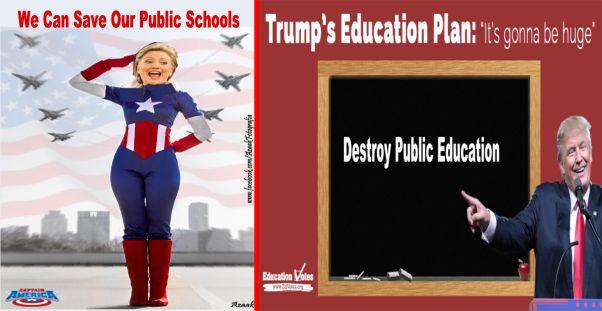 Trump V Clinton On Education Issues >> Big Education Ape Hillary Clinton And Donald Trump On Education