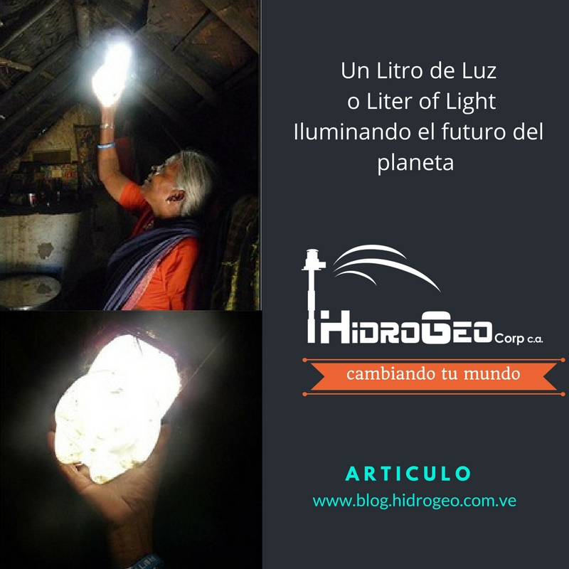 "Un Litro de Luz o ""Liter of Light"" Venezuela"