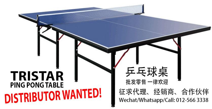 No.1 Malaysia Ping Pong Table - Tristar 5ad936afe59e