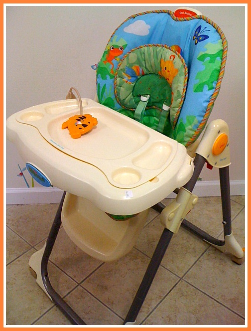 Fisher Price Rainforest Healthy Care High Chair 2 Wingback Tufted Kids Grow And While Baby S Enjoying The You Ll Enjoy Conveniences Of This A One Handed Tray Removal