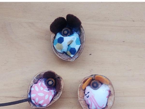 #Tuto : Une petite souris d'automne