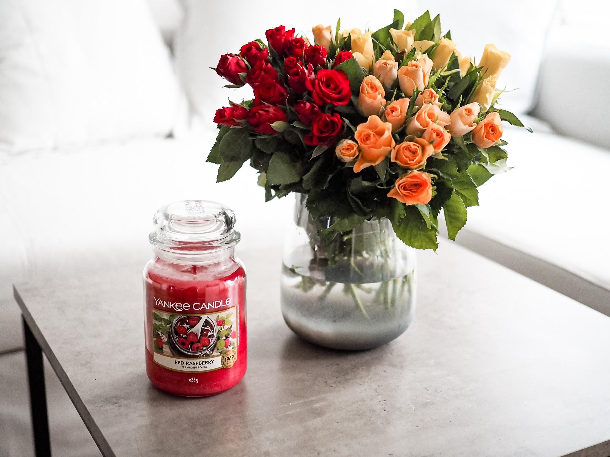 Yankee candle red raspberry