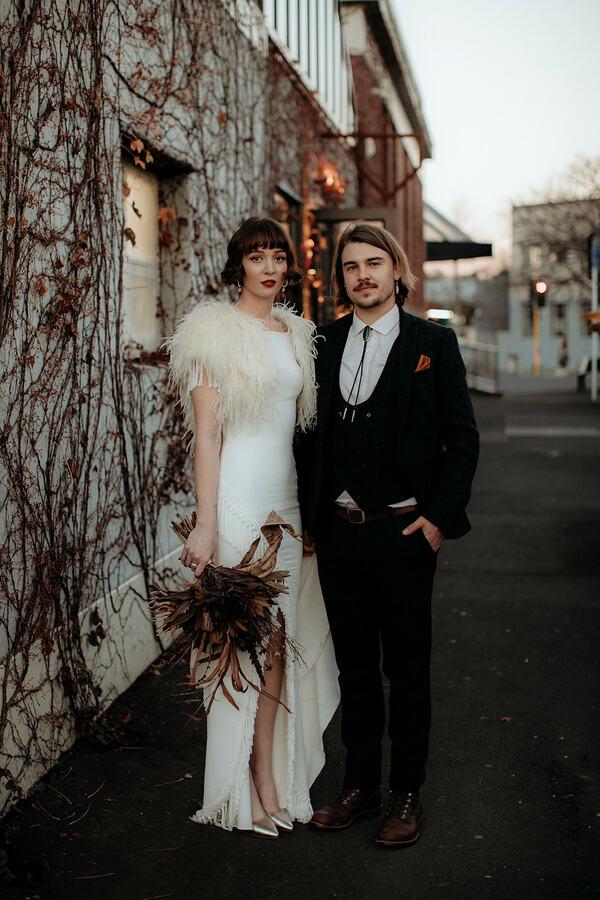 Brya + Rupert: una boda en Auckland