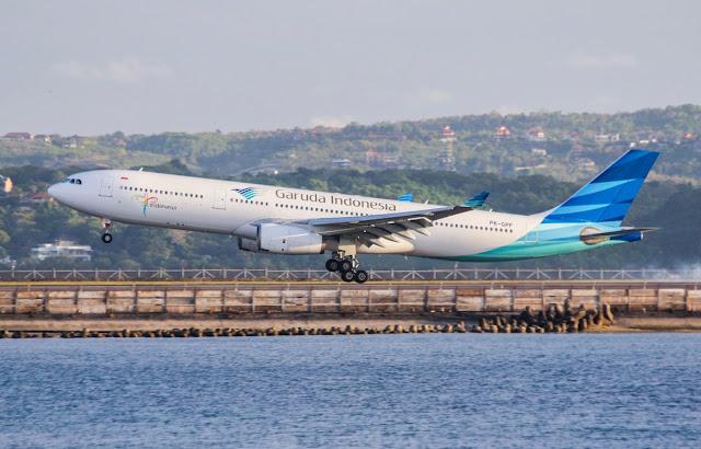 Garuda Indonesia Diverts A330-300