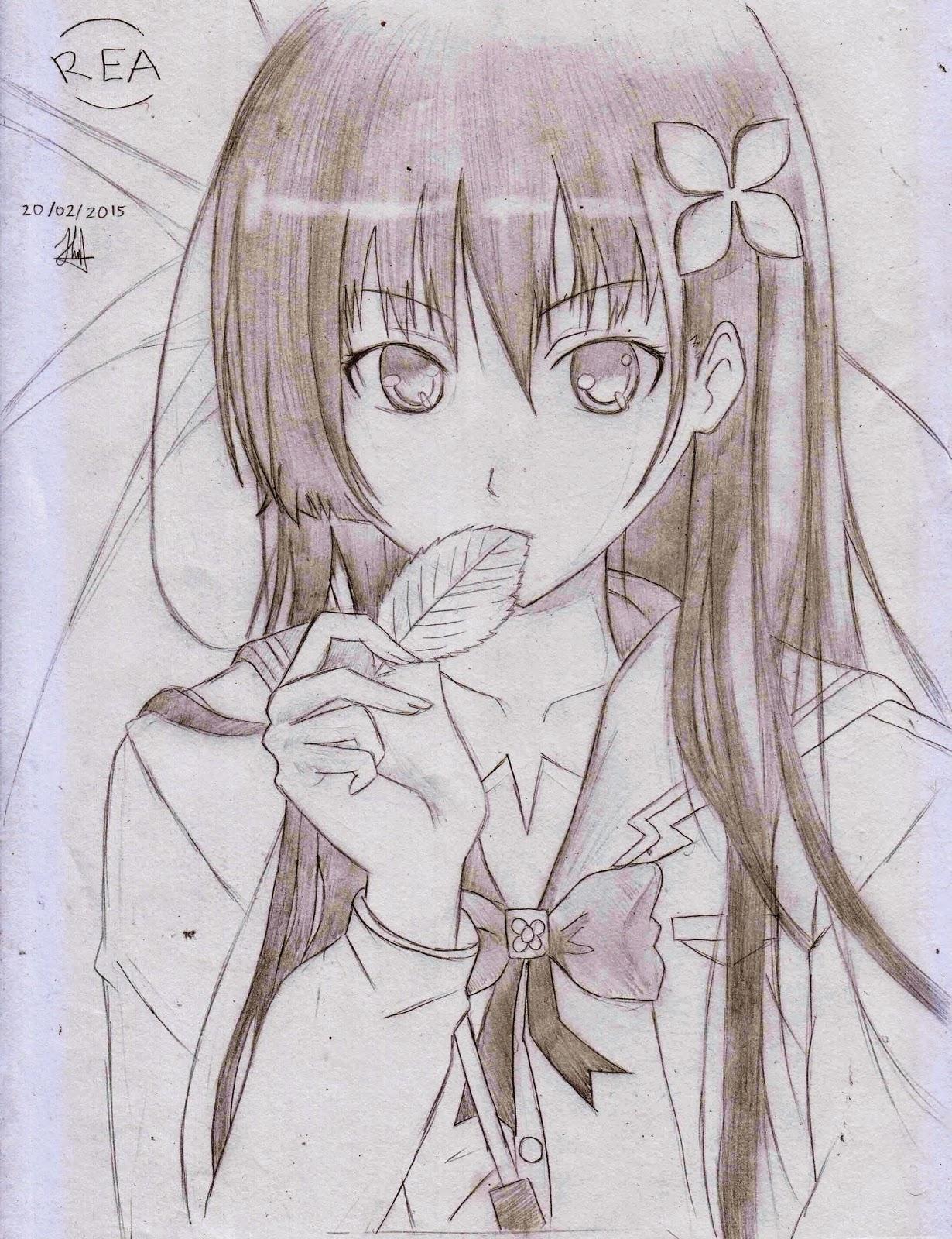 Project manga drawing