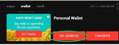 Faucets XAPO: Gana Bitcoin al instante