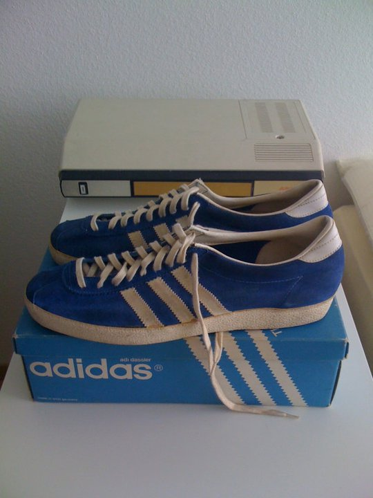 co2styles: VINTAGE ADIDAS GAZELLE MADE IN GERMANY DEADSTOCK