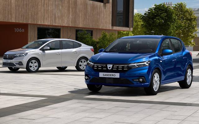 Novo Renault e Logan 2021
