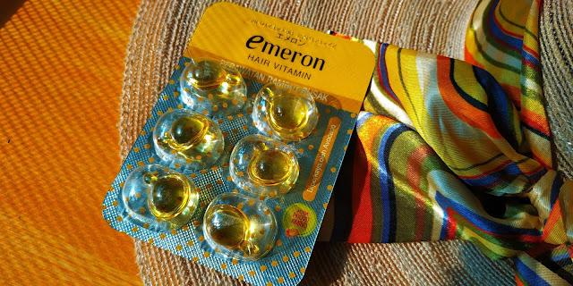 Emeron hair vitamin kuning