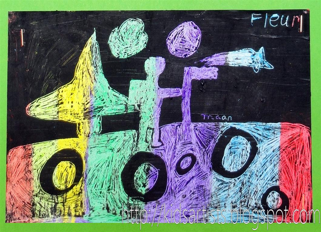 Kids Artists A Journey Through Space