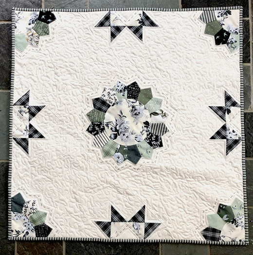 Gingham Farm Prairie Quilt designed by Jessica Dayon for Riley Blake Designs