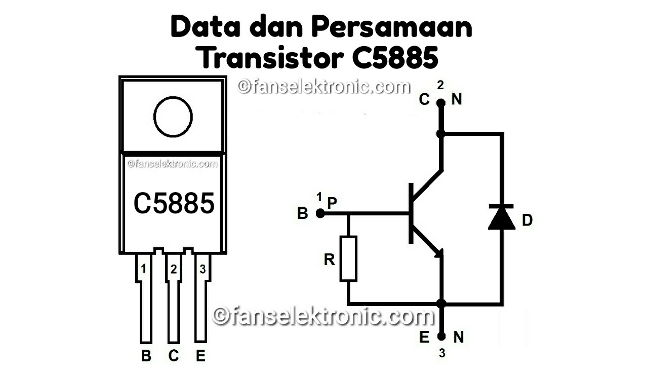 Persamaan Transistor C5885
