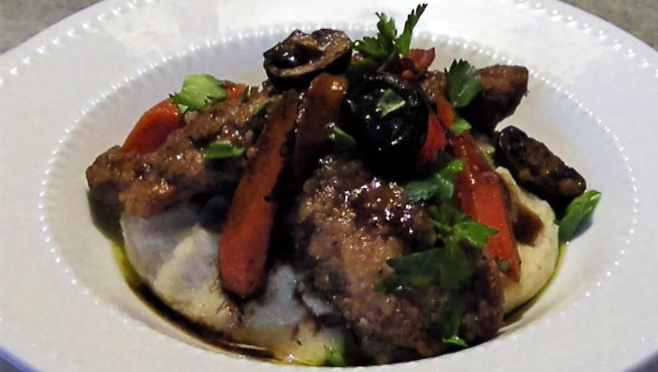 Balsamic Braised Chicken and Veggies