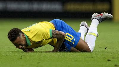 Neymar se pierde la copa america