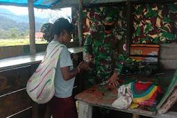 Peduli Kesehatan, Satgas TNI Yonif 756/WMS Buka Pelayanan Kesehatan di Pos Jila Mimika