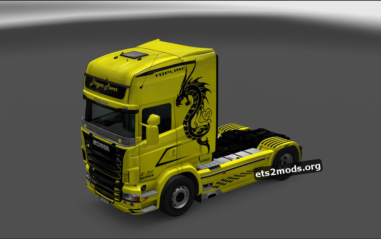 Dragon Power Skin for Scania RJL