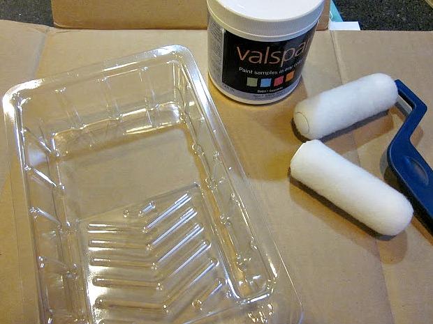Valspar paint sample project