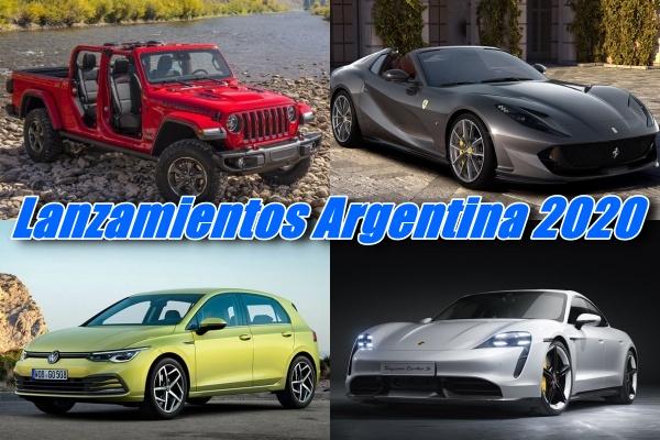 Lanzamientos Autos Argentina 2020