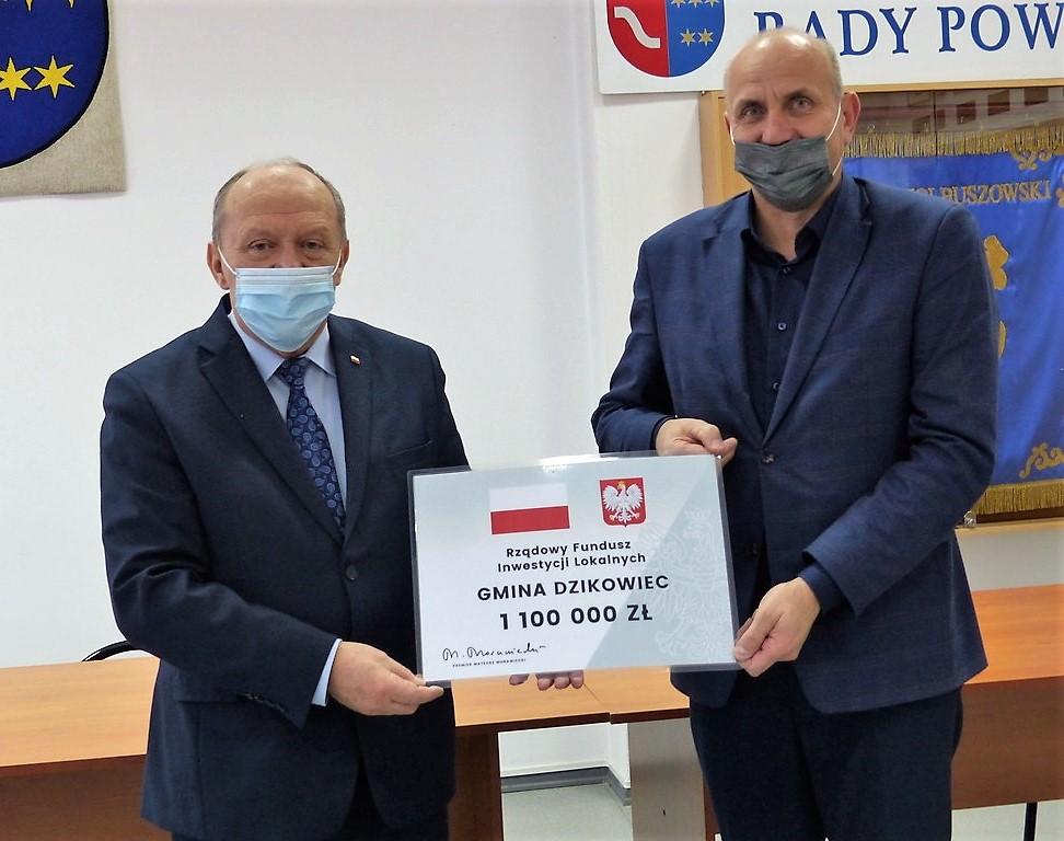 Ponad milion złotych dla gminy Dzikowiec
