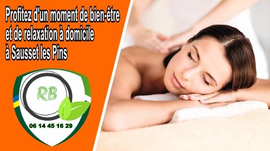 Profitez d'un moment de bien-être et de relaxation à domicile à Sausset les Pins;