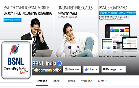 BSNL is rebuilding its brand image by resolving customer complaints through Social Media Platforms