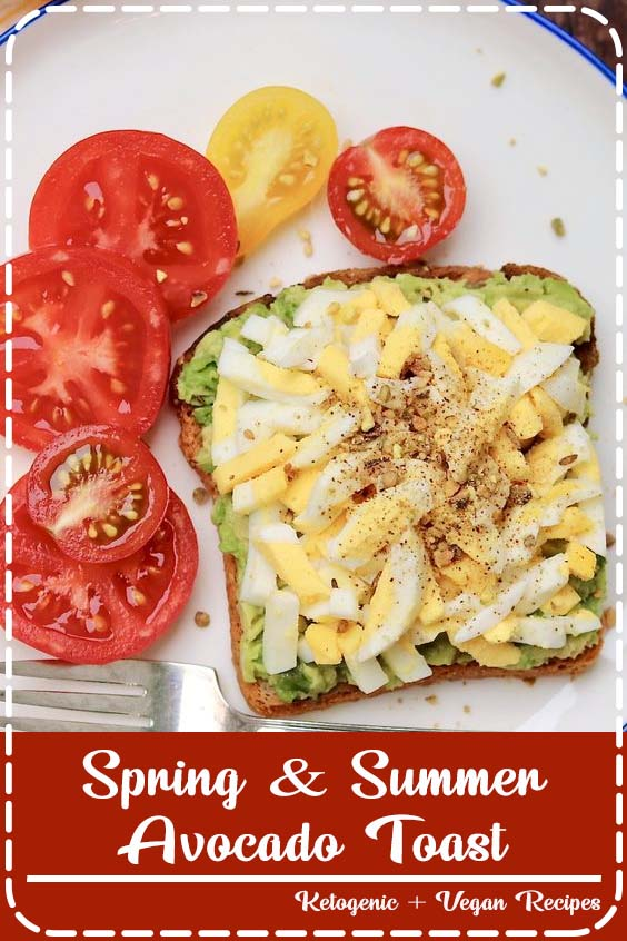 Spring & Summer Avocado Toast