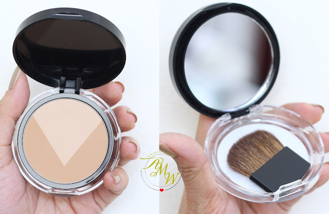 a photo of  Maybelline V-Face Duo Powder by FaceStudio Medium Dark