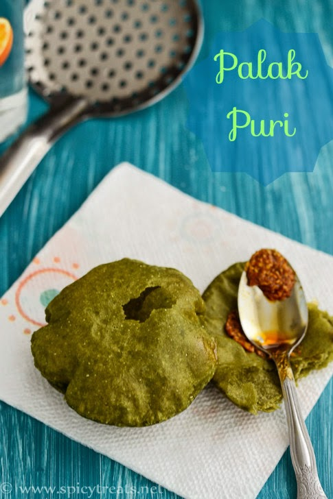 Palak Puri Recipe