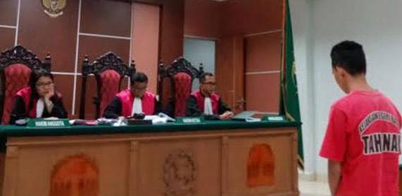 Andri Batama Dipenjara 5,6 Tahun karen Hamili Gadis Remaja