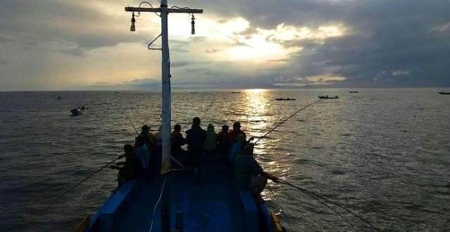 kapal untuk mancing cakalang