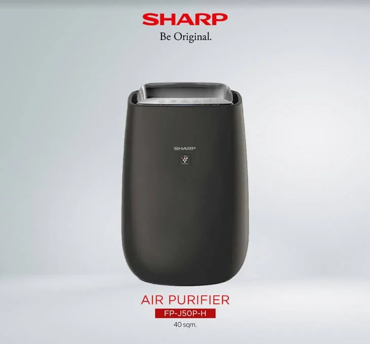 Sharp Plasmacluster Air Purifier FP-J50P-H