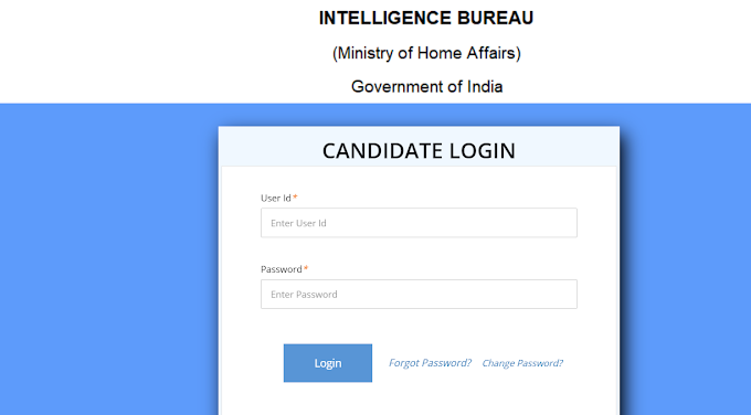 IB ACIO Admit Card 2021 Out - Here is the Direct Link