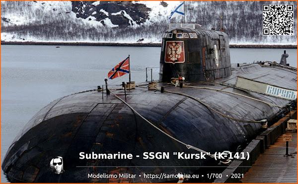 Submarine - SSGN Kursk K-141