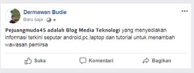 Cara menciptakan goresan pena hitam tebal di status facebook √  Cara Membuat Tulisan Hitam Tebal Di Status Facebook (FB) Tanpa Aplikasi