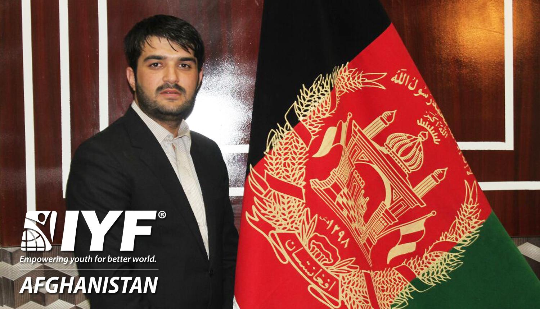 Adil Zafar, IYF Representative in Afghanistan
