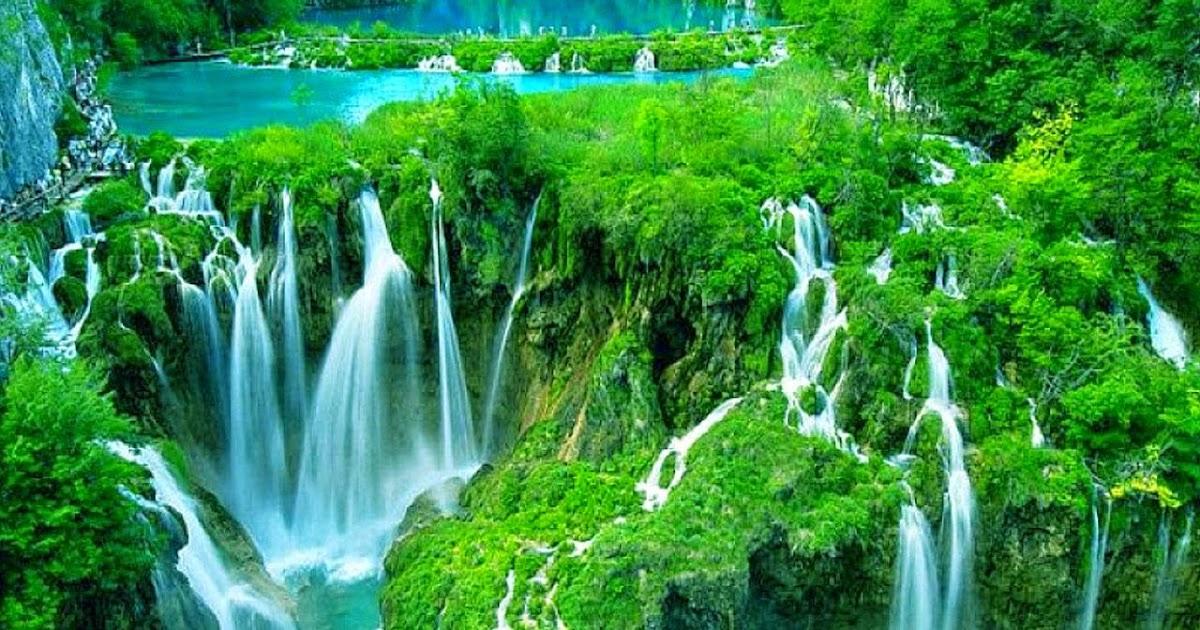 guide de la croatie parc national des lacs de plitvice. Black Bedroom Furniture Sets. Home Design Ideas