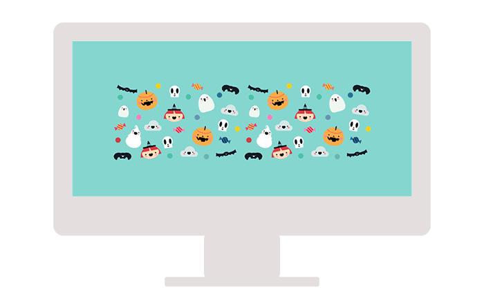 Nuevo #freebie: Halloween wallpaper para el escritorio del ordenador