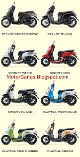 Pilihan warna All New Honda Scoopy 2017