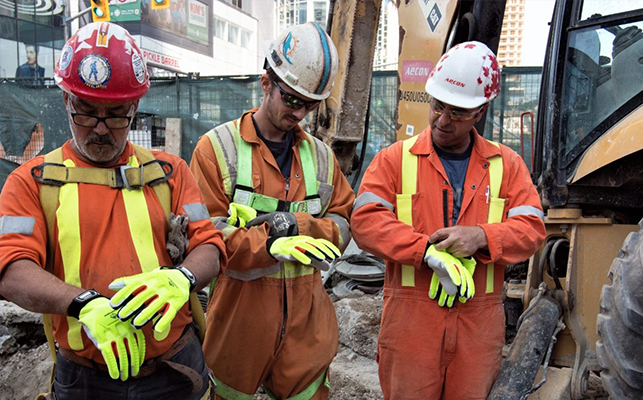 Wear personal protective equipment