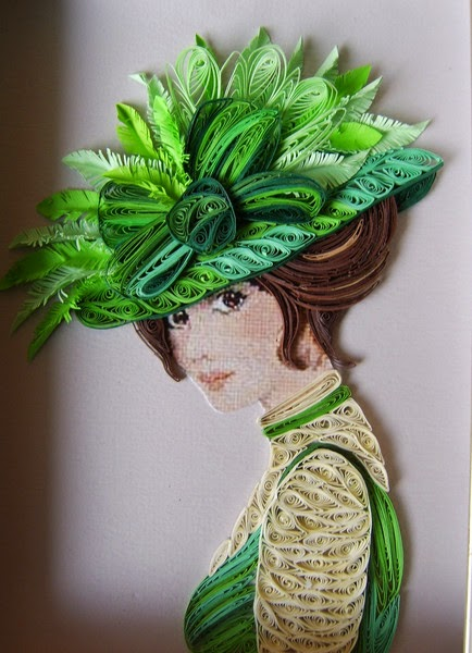 Amazing Paper Quilling Female Characters Creative Art