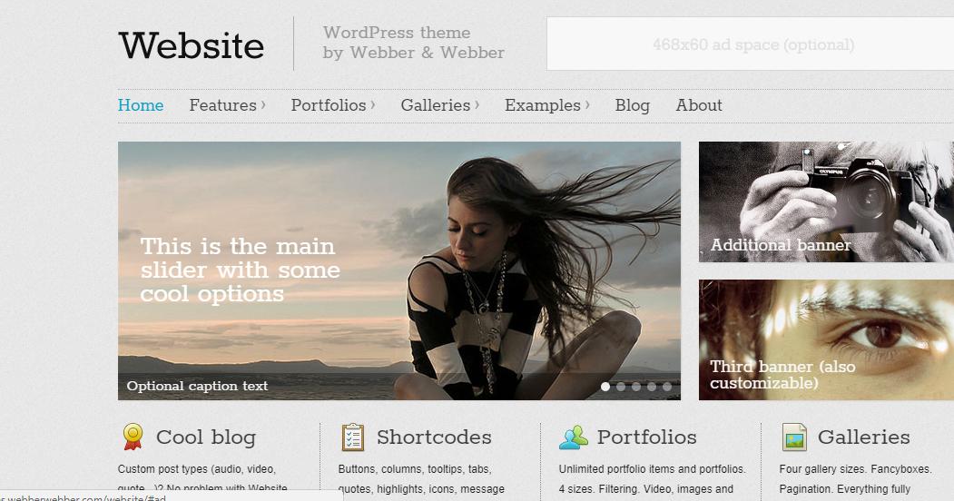 Website - Responsive WordPress Theme Free Download - Blackha