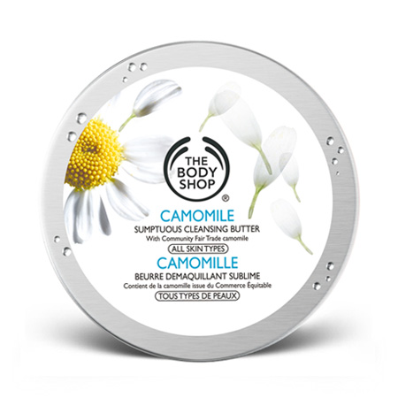 beurre démaquillant the body shop