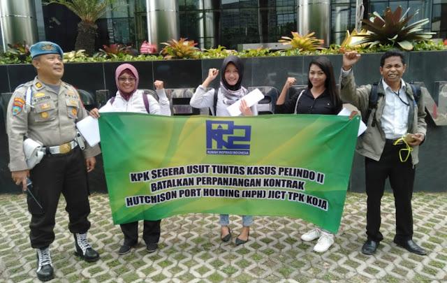 KPK Jangan Loyo Proses Kasus Pelindo II