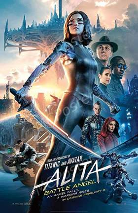 Alita Battle Angel 2019 Dual Audio ORG Hindi 350MB BluRay 480p