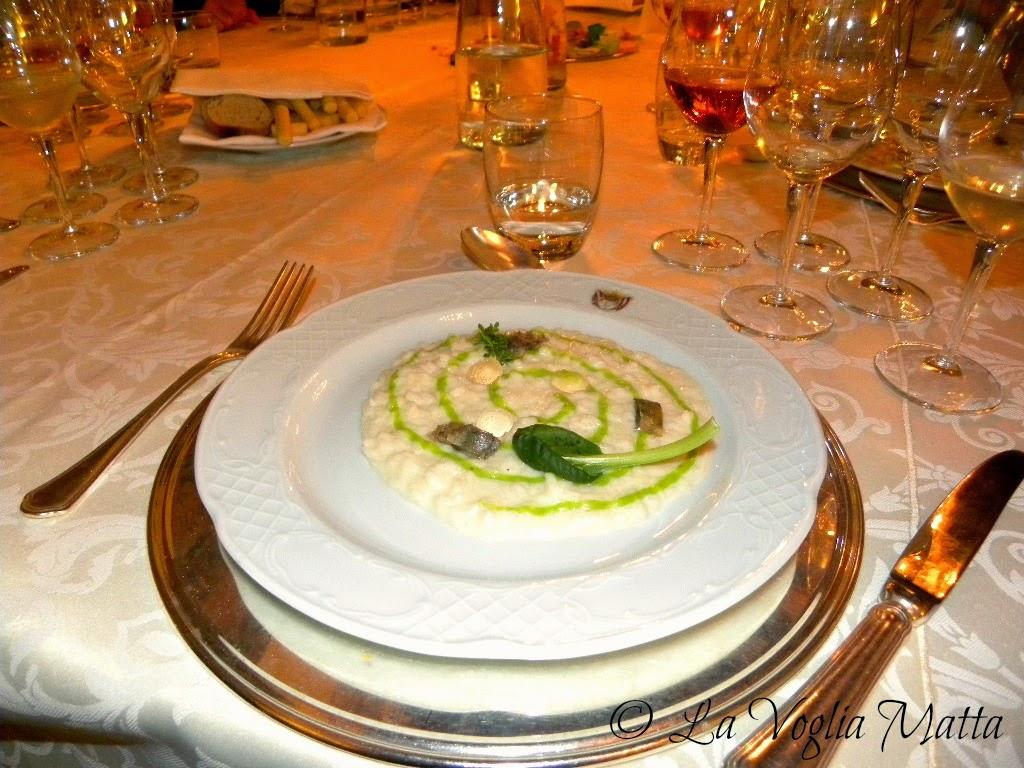 Castelbrando risotto con sarde