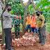 KSM MANDALANGIT merealisasikan program SANIMAS tahun 2021 di desa Halimpu