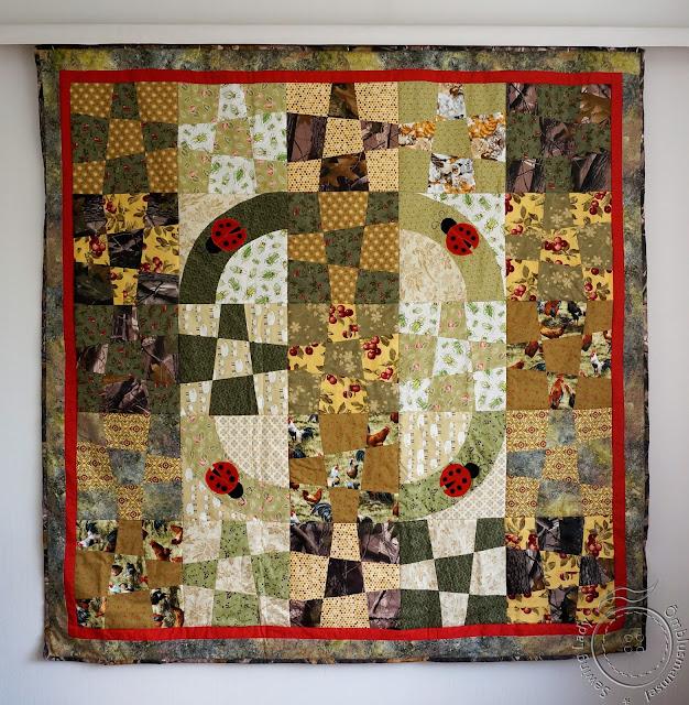 patchwork quilt, piknik quilt